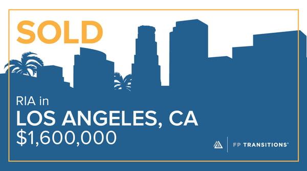 SOLD - Los Angeles, CA - $1,600,000
