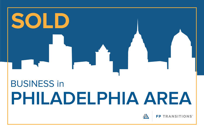 Philadelphia Area business SOLD