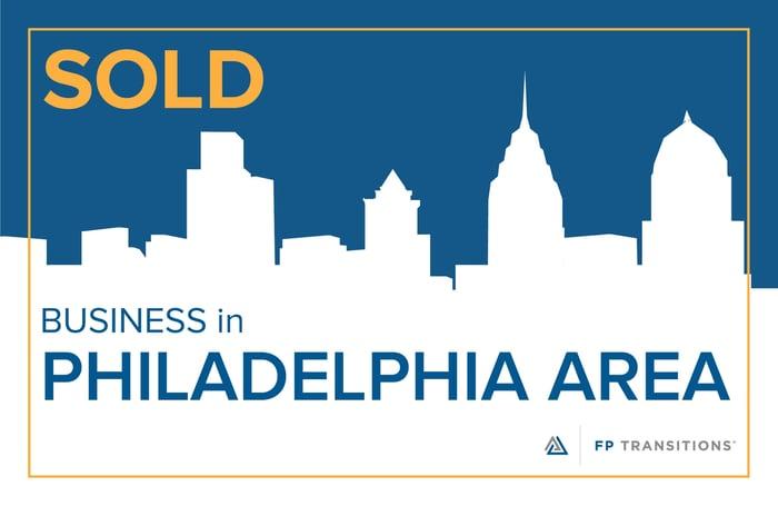 Philadelphia Area business SOLD