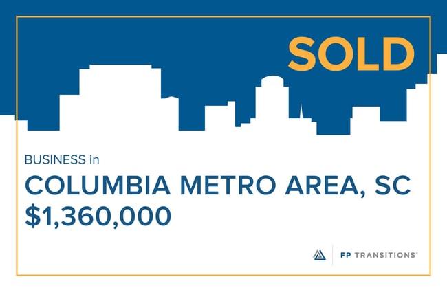 SOLD: Columbia Metro Area, SC - $1,360,000